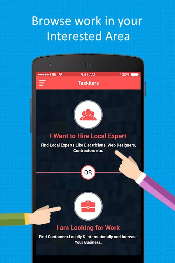 Taskkers - Local Freelancer- screenshot