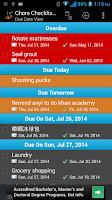 Screenshot of Chore Checklist - Lite