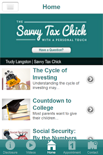 Savvy Tax Chick- screenshot thumbnail