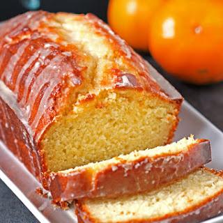 Glazed Tangerine Cake.