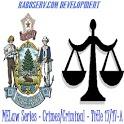 MELaw Criminal Title 17/17-A icon