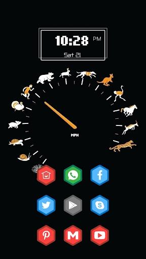Speedometer Made by Animals