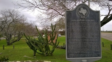 Photo: Santa Gertrudis marker, King Ranch