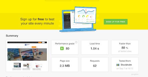 Mesurer la vitesse de votre site