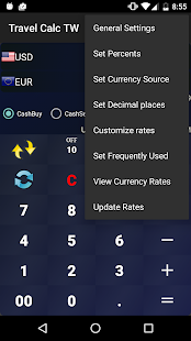 Exchange Calculator - náhled