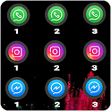 Dual Apps, Multiple App Cloner Parallel Space icon