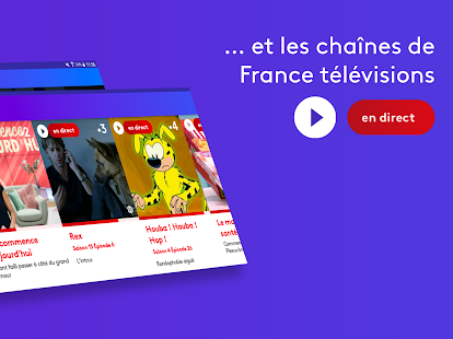 france.tv : la TV en direct et replay gratuitement Capture d'écran