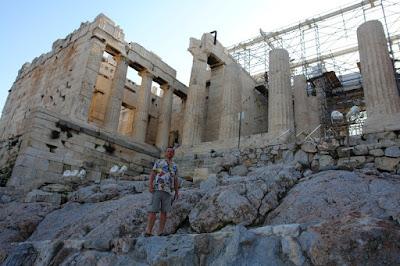 Акрополь, вход