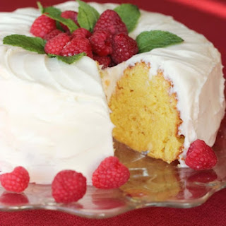 Our Version of Nothing Bundt Cakes' Lemon Cake.