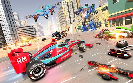 Eagle Robot Car Game – Formula Car Robot Games 1.1.0 screenshots 1