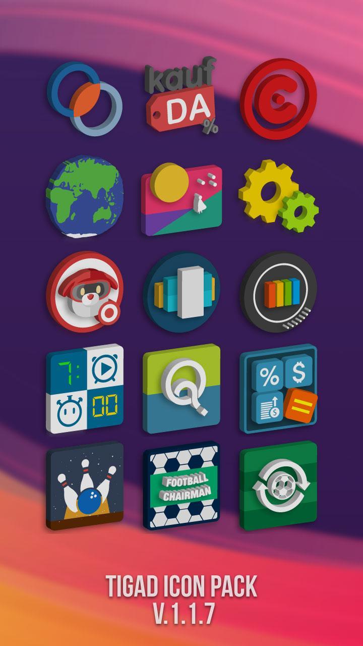 Tigad Pro Icon Pack Screenshot 4