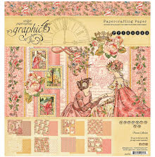 Graphic 45 Double-Sided Paper Pad 8X8 24/Pkg - Princess