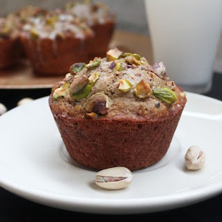 Cardamom Pistachio Muffins