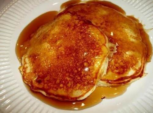 "Sour Cream Pancakes""Yum! These are my favorite pancakes."" - ladyinthekitchen"