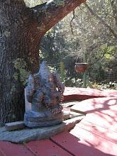Photo: Yoga Farm, Grass Valley, CA - Ganesha at the Durga temple