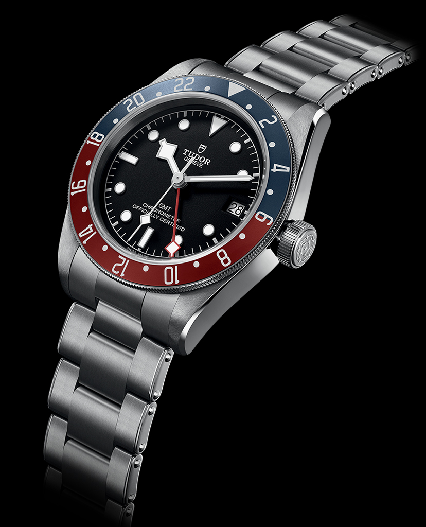 Tudor Black Bay GMT.