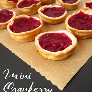 Mini Cranberry Tarts