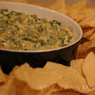 Spinach and Artichoke Dip Light