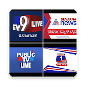 Kannada News Live - TV9, Public TV, Suvarna News