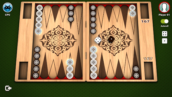 Backgammon - Free Board Game by LITE Games - náhled