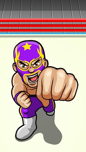 Wrestler Punch Wrestling