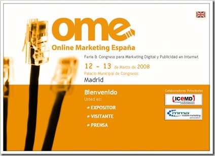 Online Marketing España 2008