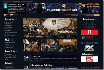 Xuventude Galiza Net 2008