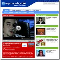 Vídeos MySpaceTV