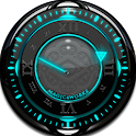 T Glow Analog Clock Widget icon