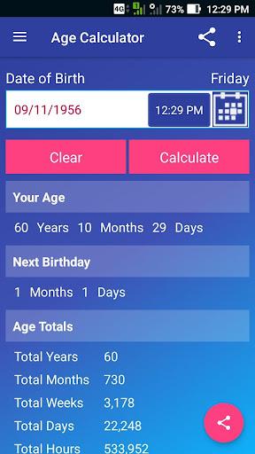 Age Calculator Pro screenshot 10