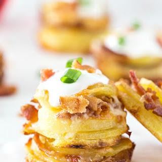 Crispy Loaded Potato Stacks Recipe