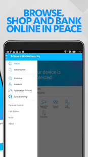 F-Secure Mobile Security- screenshot thumbnail