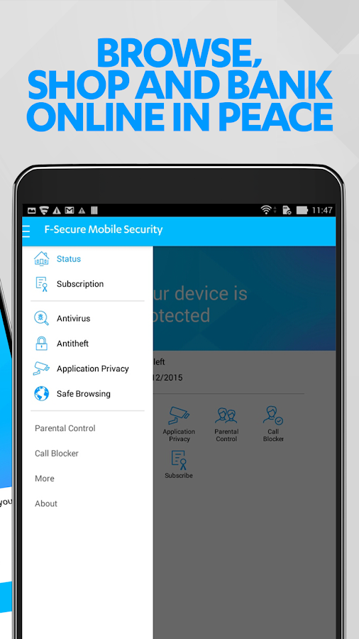 F-Secure Mobile Security- screenshot