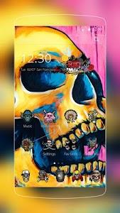 Colorful Skull Graffiti screenshot 0