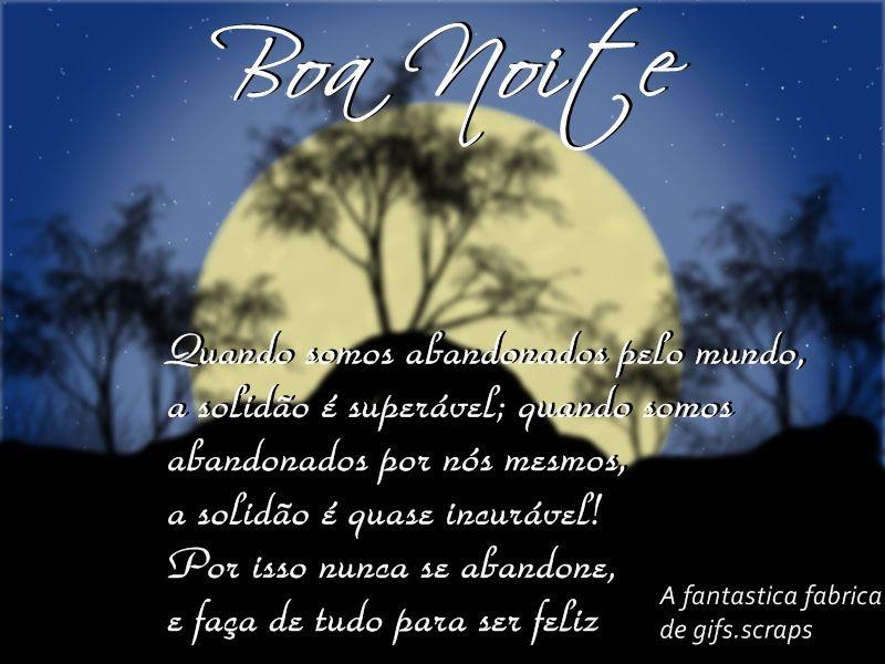 Frases De Boa Noite: TEXTOS & MENSAGENS: BOA NOITE-C>>>04