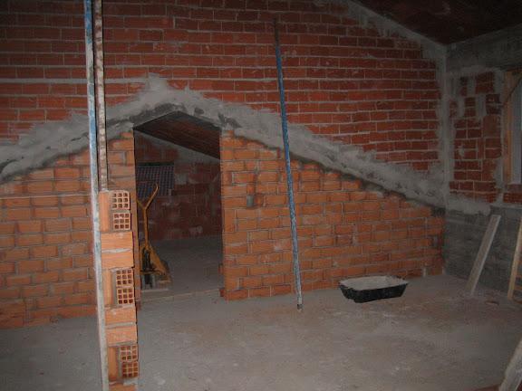 Alessia e marco home cellarengo muri interni - Muri a vista interni ...