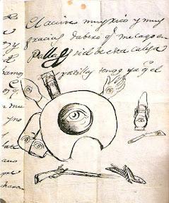 alfabeto de letras manuscritas para tatuajes