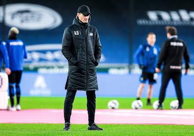 """Alexander Blessin s'emporte: """"L'arbitre doit avoir les couilles de siffler un deuxième penalty, même à Bruges"""""""