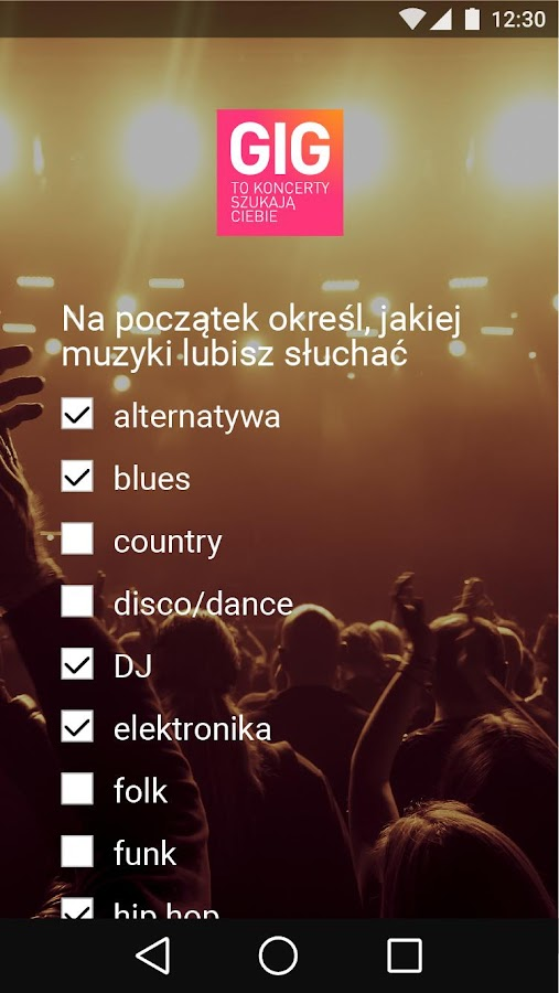 GIG Polska- screenshot