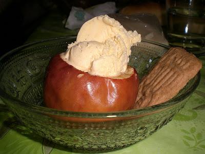 Pommes au four orange/canelle dans Fou-dingue