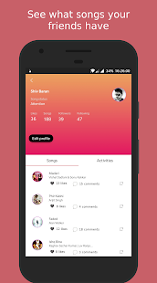 Swinguff - Social Music Player - náhled
