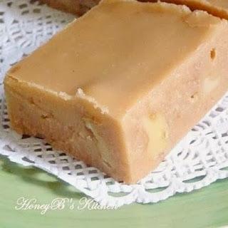 Nanny's Brown Sugar Fudge.