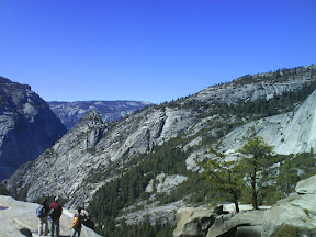 View from the Yosemite National Park