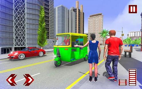 Download City Tuk Tuk Rickshaw Simulator For PC Windows and Mac apk screenshot 14