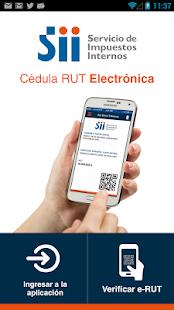 e-RUT Cédula RUT Electrónica - náhled