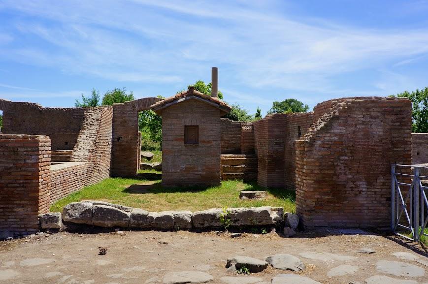 Ostica Antica ruins