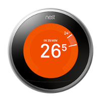 Nest thermostat time to temperature