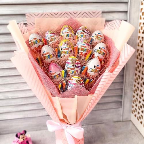 сладкие букеты для детей
