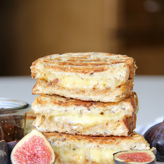 Grilled Cheese with Fig Jam Recipe
