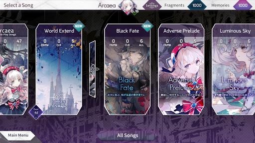 Arcaea - New Dimension Rhythm Game 3.0.1 screenshots 3